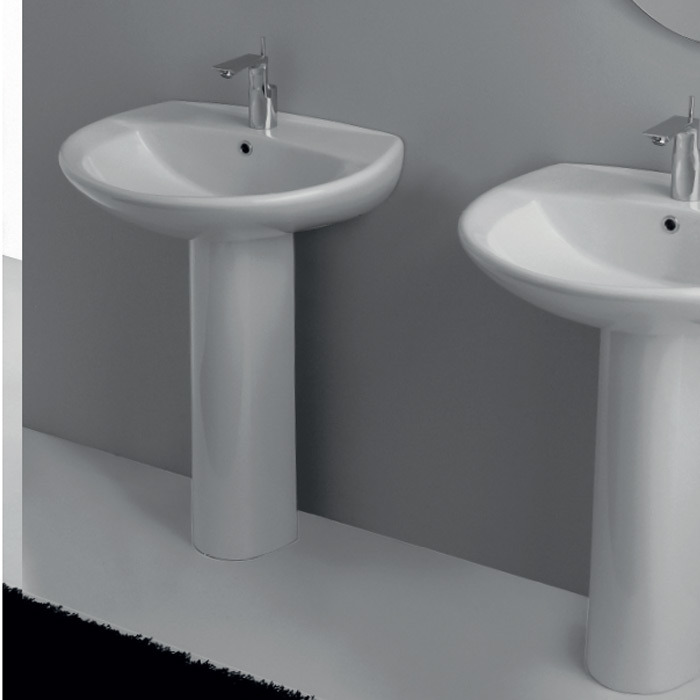 LAVABO COLONNA YESTERDAY 63X52